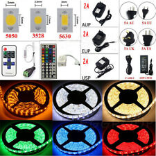 5M 10M SMD RGB 5050/3528/5630 300LEDs Cool/Warm White Waterproof Strip Light
