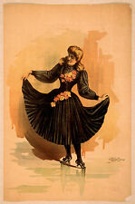 Photo Print Vintage Poster: Theatre Flyer 1800s Blank Unknown 17