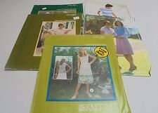KNITWIT Sewing Patterns You Choose your Pattern All UNCUT SZ 6-22 KNIT WIT