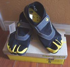 BODY GLOVE BOY 3T BAREFOOT MAX Kids WATER SHOES 3-TOE Black/Yellow Youth Sz4/6/7