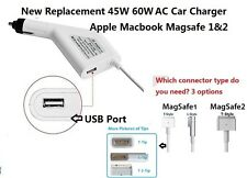 New 45W 60W Car Charger Power Supply Adapter Apple MacBook air Pro1& 2 replaceme
