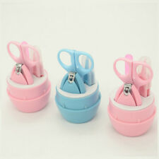 NEW Child Baby Infant Finger Toe Nail Clipper Scissor Cutter Safety Manicure Set