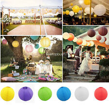 """10 pcs 4"""" 8"""" 12"""" 14"""" 16"""" colorful Chinese paper Lantern Wedding Party Decor Home"""