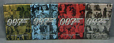 JAMES BOND Ultimate Edition Volume 1 2 3 & 4 Complete Set Vol 1-4 DVD Like New