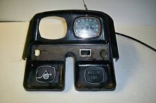 Vintage Arctic Cat snowmobile 1970's dash with speedometer