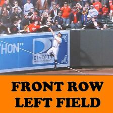 2 Front Row Seats Baltimore Orioles Tickets vs. Oakland Athletics 8/22/17