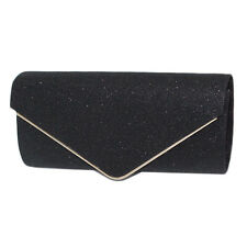 Fashion Womens Envelope Clutch Chain Purse Lady Evening Handbag Shoulder Bag