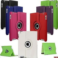 iPad Leather 360 Degree Rotating Smart Stand Case Cover For Apple iPad Air Model