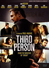THIRD PERSON  DVD Liam Neeson Mila Kunis In Like New Condition
