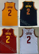 Kyrie Irving #2 Cleveland Cavaliers Yellow Red White Black NBA Swingman Jersey