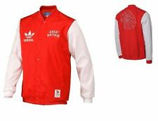 New Adidas Originals Mens Jacket Team GB Bomber Jacket College Varsity Jacket
