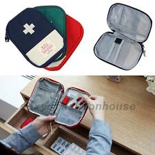 First Aid Emergency Kit Car Bike Home Medical Camping Office Travel Bag