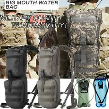 NEW Hiking Cycling 2L 3L Hydration Packs Tactical Molle Water Reservoir Backpack