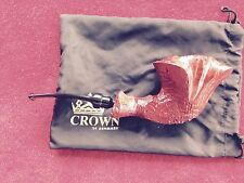 UNSMOKED CROWN VIKING PIPE BY POUL WINSLOW