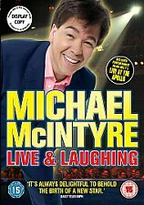 MICHAEL MCINTYRE- LIVE AND LAUGHING-DVD-BRAND NEW SEALED