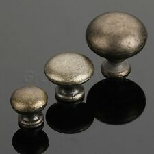 Cute 1PC Antique Drawer Pull Wardrobe Cupboard Bin Knob Mushroom Shape Handle