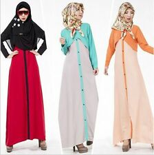 Muslim Long dress Women New Style Cocktail dress Islamic Abaya Kaftan Maxi dress