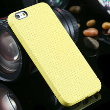 Ultra Thin Soft TPU Gel Silicon Case For iPhone 7 6 6s Slim Honeycomb Dot Rubber