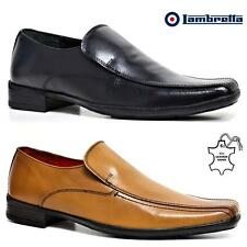 Mens Lambretta Leather Shoes Smart Office Wedding Dress Work Formal Party Shoes