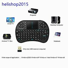 High Sensitivity Wireless Keyboard 2.4G with Touchpad Handheld Keyboard Lot Heli