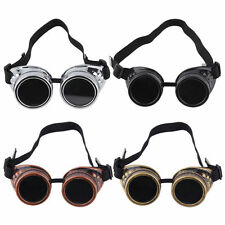 Cyber Goggles Steampunk Glasses Vintage Retro Welding Punk Gothic Victorian OW