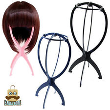 New Folding Plastic Stable Durable Wig Hair Hat Cap Holder Stand Display Tool XP