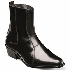 Stacy Adams Santos Black Leather Dress Boot