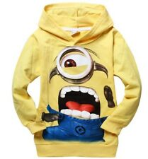 40%off Baby Boys Despicable Me Hoodies Kids Hooded Hoodie Tops Outerwear 1-4T
