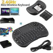Mini Wireless Keyboard Multi-media Remote Control Touchpad Handheld Keyboard OW