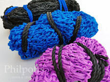 """Greedy Feeder Haynet Haylage Hay Net for Horse or Pony 1"""" holes, Small, Large,"""