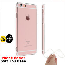 Silicone Clear Soft Gel TPU Shockproof Case Film For iPhone 5 6 6S Plus 7 7 Plus