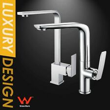 WELS Square Swivel Basin Sink Mixer Kitchen Laundry Faucet Tall Tap Spout Chrome