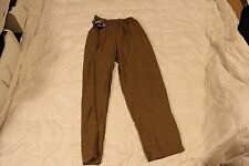 WILD THINGS TACTICAL COYOTE TAN WIND/RAIN PANTS XXL devgru