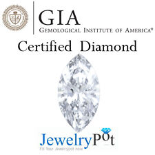 2.01CT F SI1 Marquise GIA Certified & Natural Loose Diamond Stone (14648511)