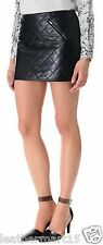 New Womens Mini Designer Skirt Genuine Soft Lambskin Leather Skirt For Women-05