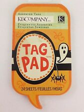 Halloween Spooky Tag Pad Assorted Tags by K&Company