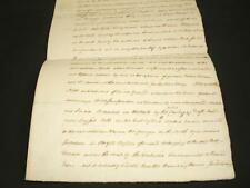 1796 DOCUMENT, STEEPLE CLAYDON, BUCKINGHAMSHIRE, A-GRADE