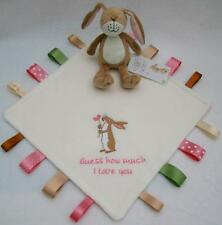 Guess How Much I Love You Taggie, Little Nutbrown Hare Rattle, Personalised Gift