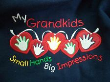 Grandparent Sweatshirt: Grandmother PM in Navy or Red or Grandfather L Black VGC