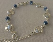 Sterling silver Maltese Cross Bracelet with Shamballa Factory price!