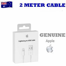 3X 2M Genuine Apple Lightning Data Sync Cable Charger for iPhone 7 6 S 5 5s iPad