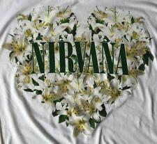 Kurt Cobain Nirvana Band Floral Heart Grunge Rock License Juniors Dolman T-Shirt
