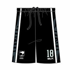 BLK Sport New Zealand Kiwis Rugby League Basketball Short 2016