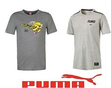 Puma Men's Cotton Casual Sportswear Short Sleeve Top T-Shirts