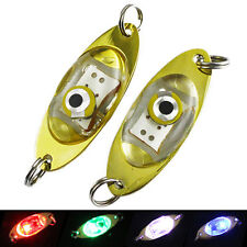 Underwater Fishing Flashing Light Bait Lure Squid Mini LED Lights Lamp Deep Drop