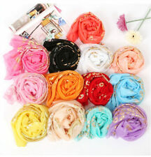 Chinese New Lady Multi-color Chiffon Soft Scarves Long Wraps Shawl Scarf