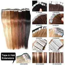18''-24'' Seamless PU Tape in Skin Weft 100% Remy Human Hair Extensions 50g/100g