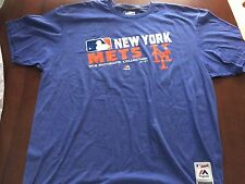 New York Mets MLB Authentic Collection Majestic Mens XXL Shirt