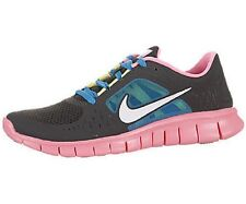 NIKE Free Run 3 GS Gray Pink Shoes NIB Girls Youth Size 4.5y / EUR 36.5