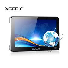 XGODY 7'' GPS Navigation System Reverse Camera 8GB TF Card For Car Truck SAT NAV